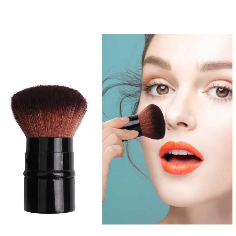 Mixdair מיני נשלף איפור קוסמטי פנים זווית סומק מברשת Telescop Loose אבקת נסיעות איפור כלים למתוח עיצוב יופי