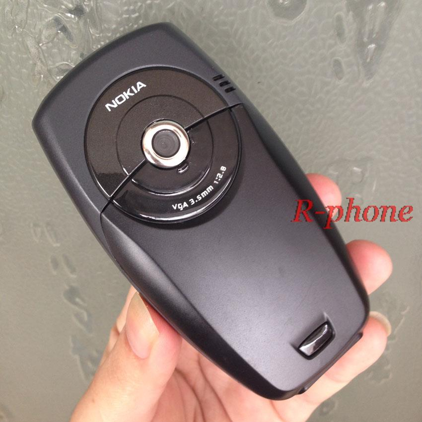 Original NOKIA 6600 Black Mobile Phone 2G GSM Triband