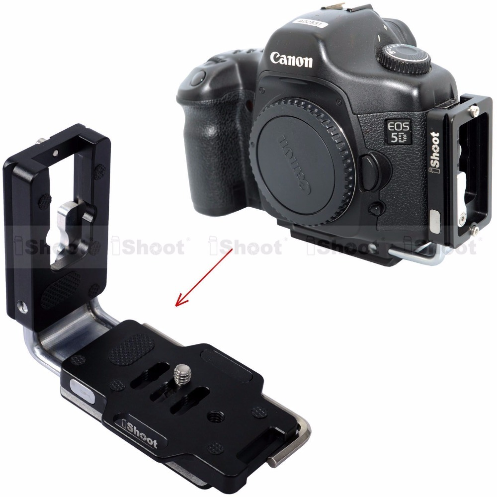 Vertical Shoot L Bracket for Nikon D7200 D7100 D7000 D750 D610 D500 D5500 D5300 D5200 D5100 D800 D3300 D3200 D3100 D5 D4 D3 D4X