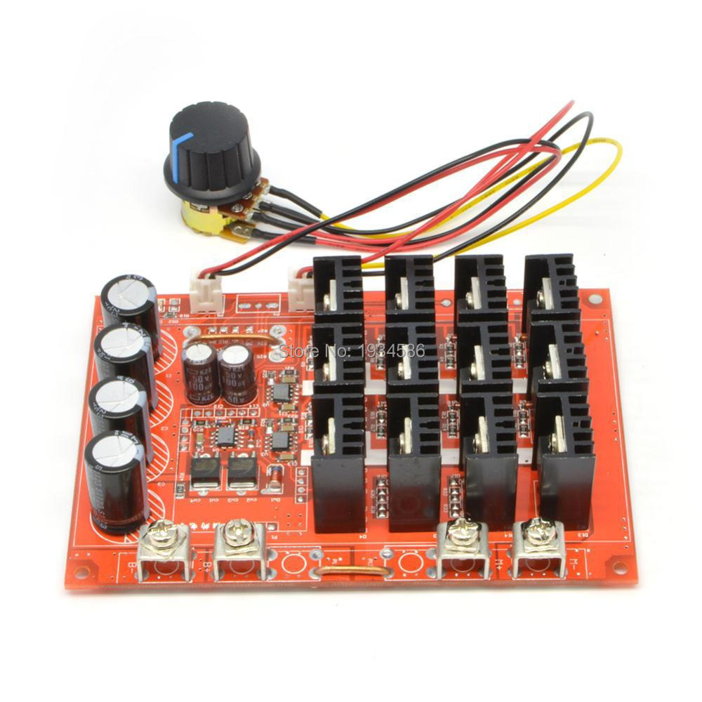 DC Motor Speed Control HHO PWM 30A Max Frequency Adjust