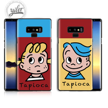 Cute Boy girls for Case Samsung Galaxy Note 9 Tapioca Case for Samsung Galaxy A7 A8 2018 A50 A530 A750 Black Case for Note 8 9 цена и фото