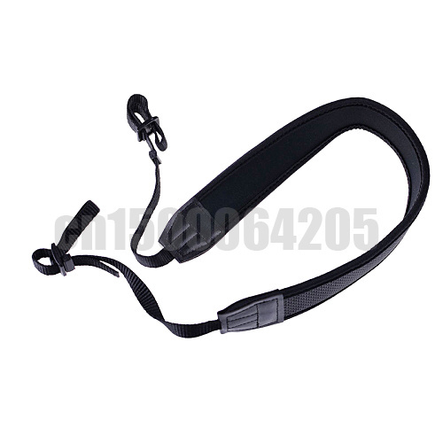 New Universal DSLR Camera Black Soft Shoulder Neck Belt Strap Grip Straps For all DSLR Camera 5D 60D D90 D3200 Free shipping