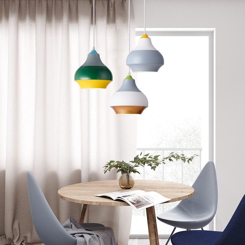 Modern Nordic Pendant Light Indoor Hanging Drop Light Contemporary Suspension Pendant Lamp Restaurant Dining Pendant Light (4)