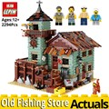 LEPIN IDEAS 16050 The Old Fishing Store Model set compatible legoings 21310 Building Blocks Bricks Educational Toys for children
