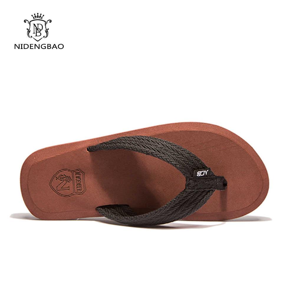 b8ffffd917087 ... NEEDBO Flat Flip Flops Sandals Casual Men Slippers Shoes Comfortable  Summer Beach Sapatos Hembre sapatenis masculino ...