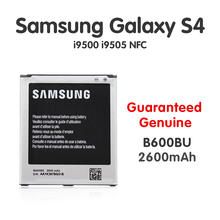Original Samsung Replacement Battery For Galaxy S4 SIV i9505 i9500 NFC B600BC B600BE B600BU 4pin 2600mah Batteria batteries akku