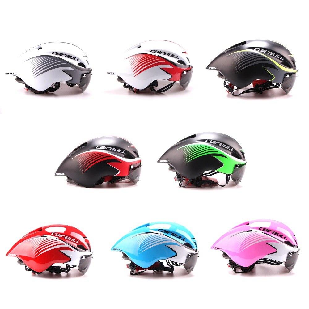 3 lentilles Aero 290g TT lunettes casque de vélo route vélo sport sécurité casque équitation hommes course dans le moule contre la montre cyclisme casques - 2