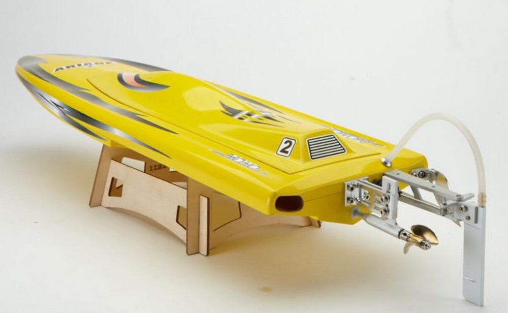 1117 Night Hawk Racing Rocket Electric Brushless Fiberglass RC Boat Mono 1 With 2958 / 4122KV Brushless Motor, 125A ESC With BEC
