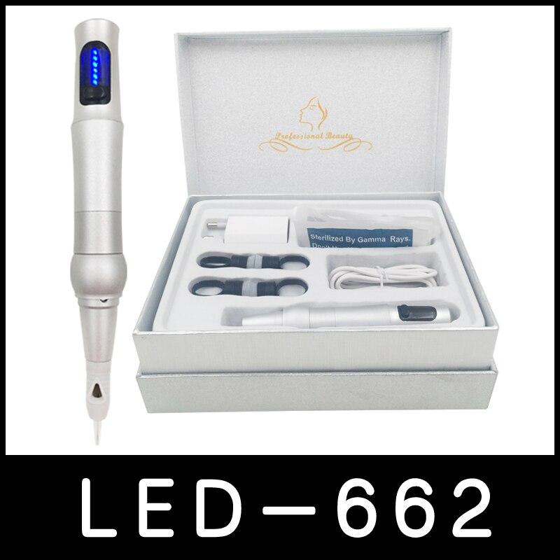 Haute qualité Liberté permanent maquillage machine numérique professionnel à lèvres/sourcils de tatouage machine kit pour le maquillage permanent pour toujours