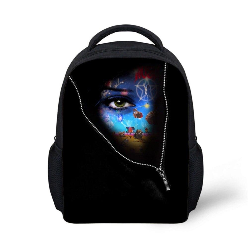 Noisydesigns тенденция детская для девочек школьные сумки 3D печати подросток студентов школьный персонализированные подросток книга сумки