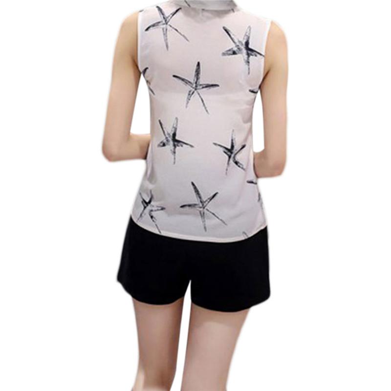 HTB14enbQVXXXXcYXpXXq6xXFXXXR - Sleeveless Chiffon Office Shirts Blusa Womens 3XL Plus Size Tunic