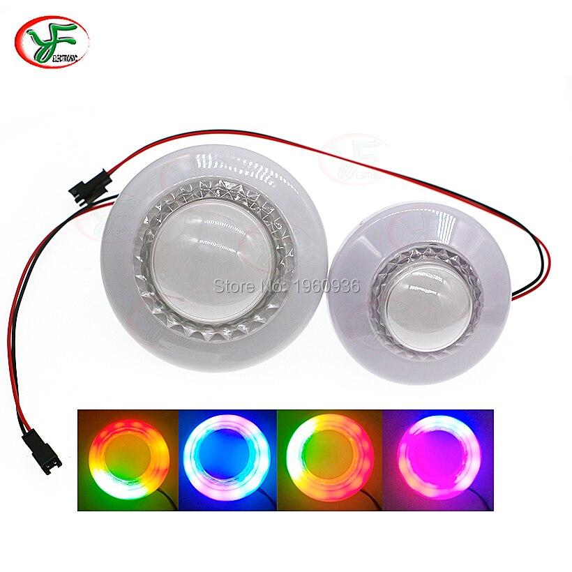 Dc12v rgbs colorido lâmpada led iluminado botão 76mm 96mm rotativa botão de luz com micro interruptor para a máquina do guindaste da garra