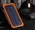 Cargador Solar Power Bank 20000 mah Batería Externa Cargador Portátil Powerbank Solar para Móviles con Alta Luz Brillante DEL LED