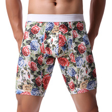Men Underwear Boxers Comfortable Long Boxers Men Underwear P