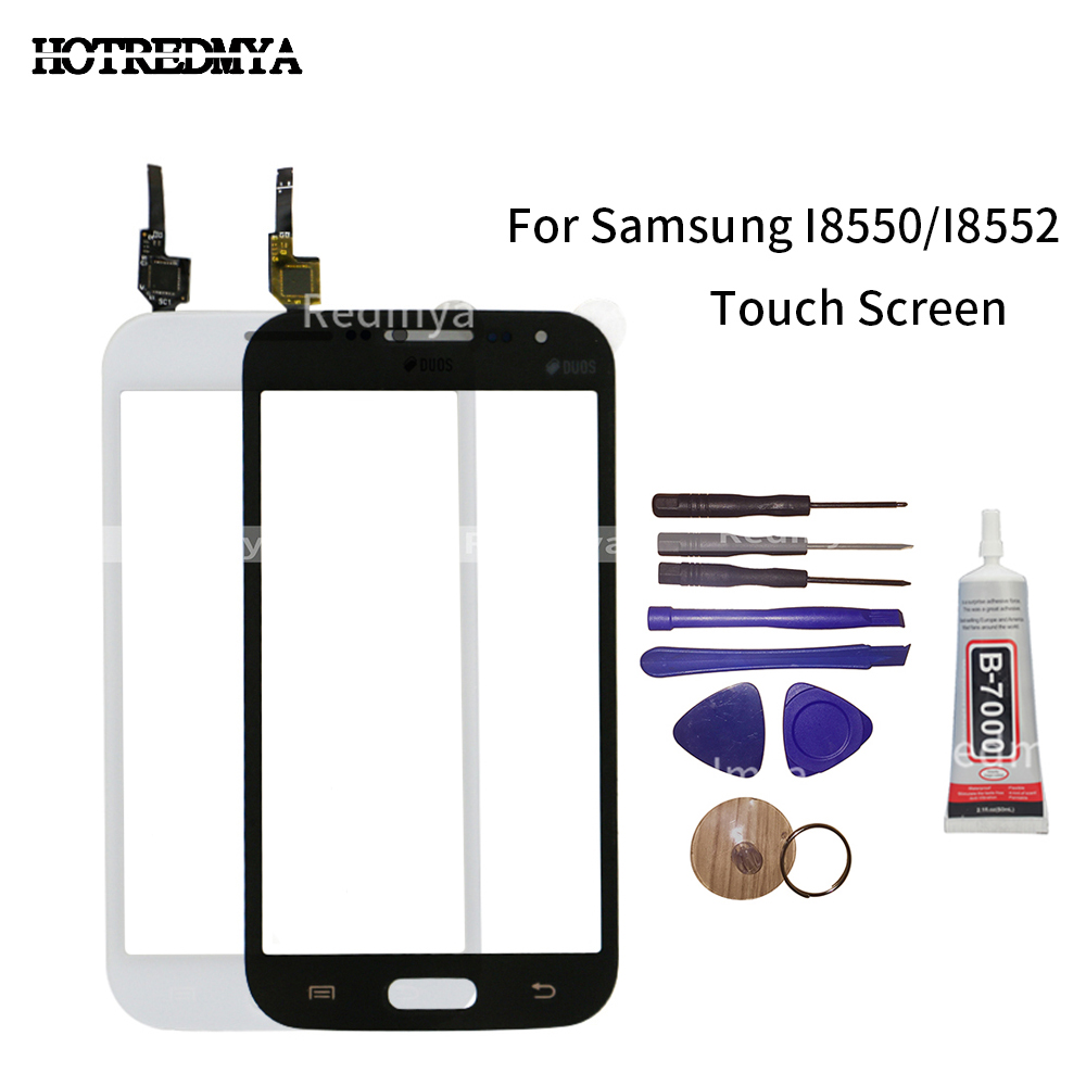For Samsung I8552 Touch Screen Panel For Samsung Galaxy Win I8550 I8552 GT-i8552 Touchscreen Digitizer Sensor Glass Lens+Tools