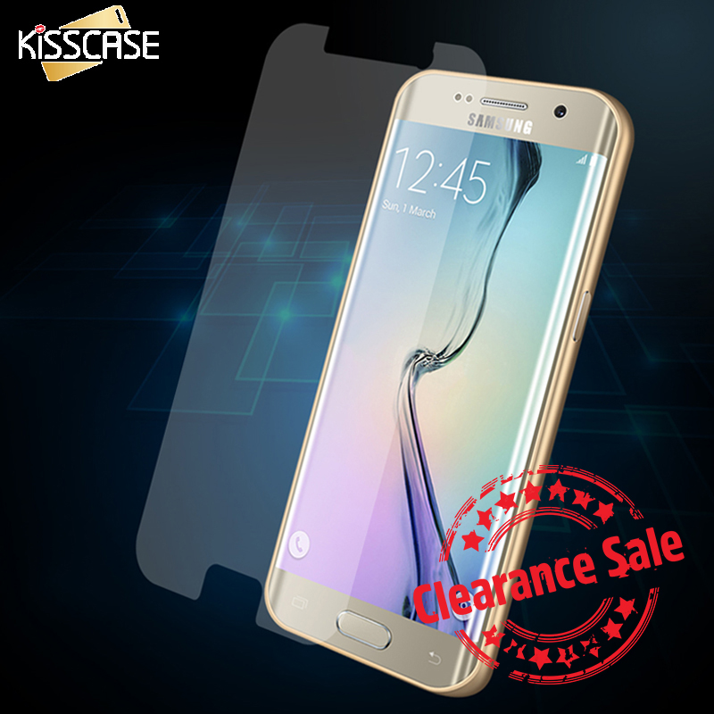 KISSCASE Soft Clear Screen Protector for Samasung Galaxy S6 S5 S7 edge Front Protective Film For iPhone 6 6S Plus 5S Transparent ...