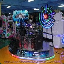 2018 New Amusement Equipment Coin Operated Music Jazz ELectronic Simulator Drum Game Machine