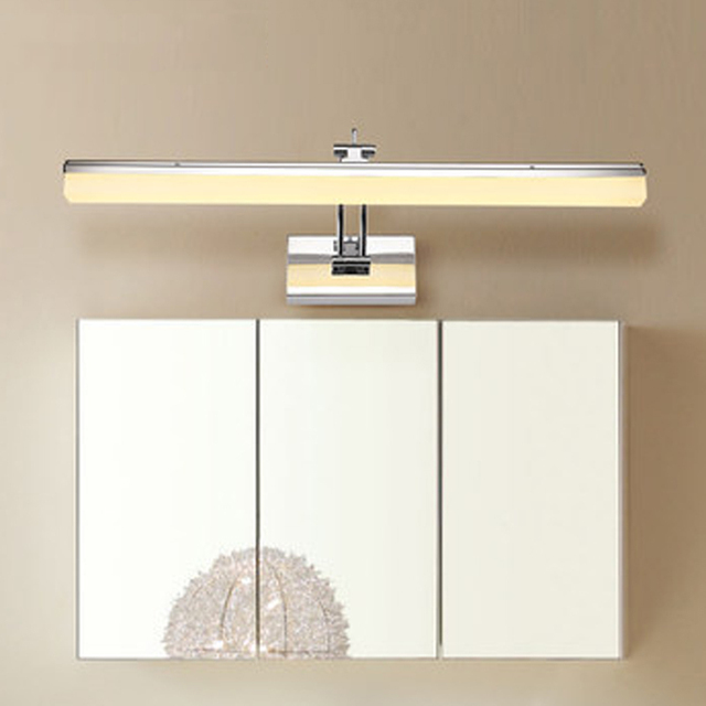 490mm verstelbare led spiegel lamp badkamer wassen kamer licht lezen ...