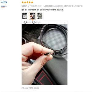 Image 5 - Joints détanchéité en caoutchouc, bandes de protection anti rayures, isolation phonique, accessoires dintérieur automobile