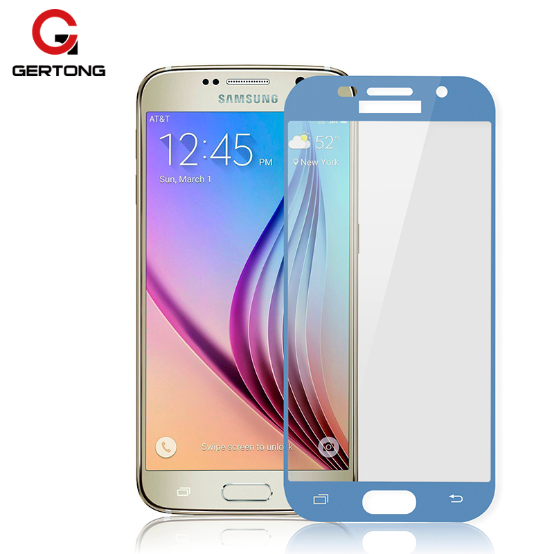 gertong tempered glass for samsung galaxy j3 2017 j5 j7 full cover screen protector protective. Black Bedroom Furniture Sets. Home Design Ideas
