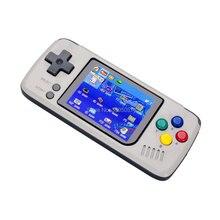 2.4 inç taşınabilir el oyun oyuncu emülatörü konsolu dahili daha fazla 1000 oyunları DIY sistemi 64 bit açık kaynak klasik oyun