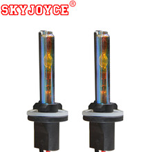 SKYJOYCE 2PCS 35W 12V H27 881 880 hid lamp bulb 4300K 5000K 6000K 8000K for ac ballasts car headlights kit H27 H11 H7(China)