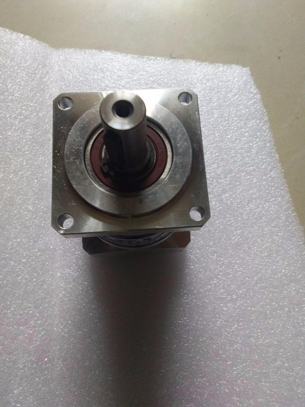 Ratio 9:1-40:1 can choose 130 square flange servo motor precision planetary reducer Body length 136mm 60mm round flange servo motor reducer length 63 mm ratio 9 1 50 1 can choose