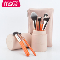 New Arrival Makeup Brushes Professional Cosmetics Brush Set 11pcs High Quality Top Synthetic Hair With PINK