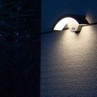 GS certificated Intelligent industrial lamp sensor garden wall lamp 220V 240V modern smart led gazebo outdoor lighting