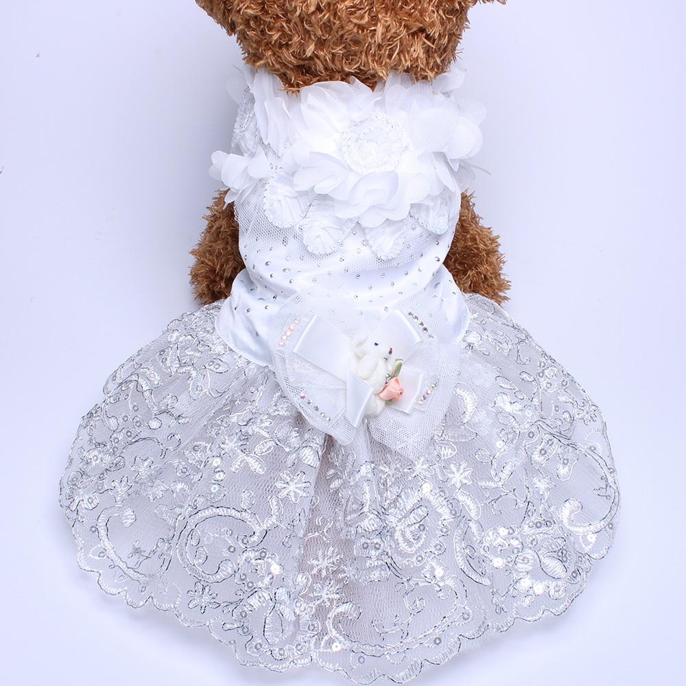 Σκύλος Cat Πολυτελές Γάμος Princess φόρεμα - Προϊόντα κατοικίδιων ζώων - Φωτογραφία 5