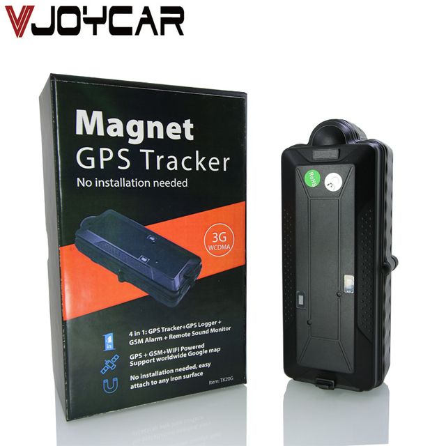 Vjoycar Tk20g Best 4g 3g Car Gps Tracker Wifi Geo Fence Anti Lost Waterproof 20000mah Life
