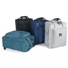 السفر الأمتعة على ظهره سعة كبيرة الرجال النساء التعبئة منظم حقيبة يد مقاوم للماء حقيبة ظهر قطنية حقيبة السفر حقيبة التخزين الكبيرة