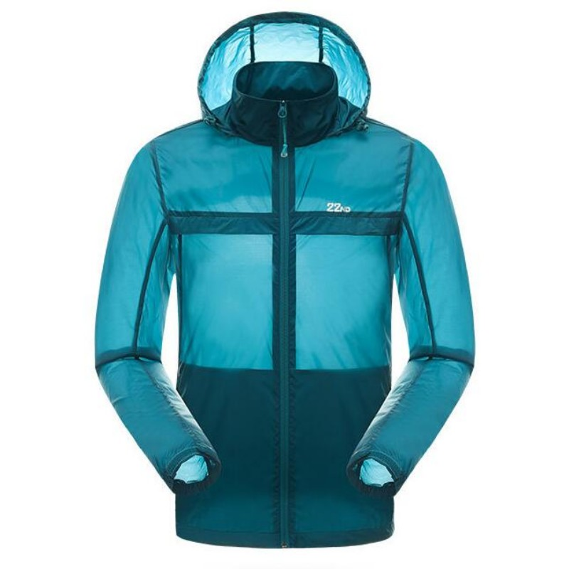 Outdoor Sportswear Men Softshell Sun Protection Cycling Man Jacket Fishing Hiking Hombre Outwear Coat Jaqueta Masculino Raincoat