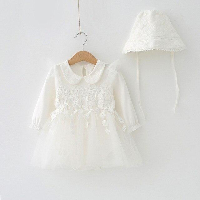 Kleid weib langarm spitze