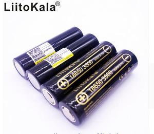 Image 1 - Литий ионный аккумулятор LiitoKala, перезаряжаемая батарея 18650, 3500 мА/ч, 3,7 В, 30А, литиевая батарея, высокий уровень слива для лампы