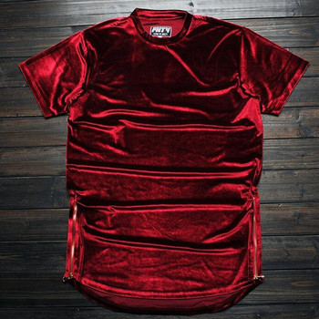 Urban Cut Velour Tee 1