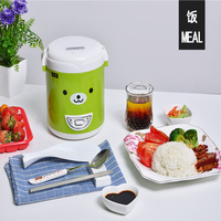 Free Shipping 220v Digital Rice Cooker Lunch Box Steamer microwave kitchen Appliance in rice cookers electric