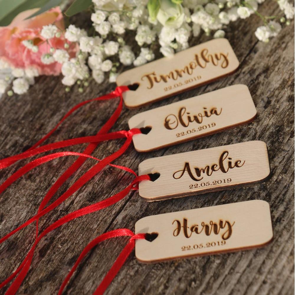 Custom Hochzeit Ort Name Zeichen Holz Hochzeit Party Tisch Dekor name Herz Tag Für Hochzeit Baby Shower Geburtstag Gast Geschenk