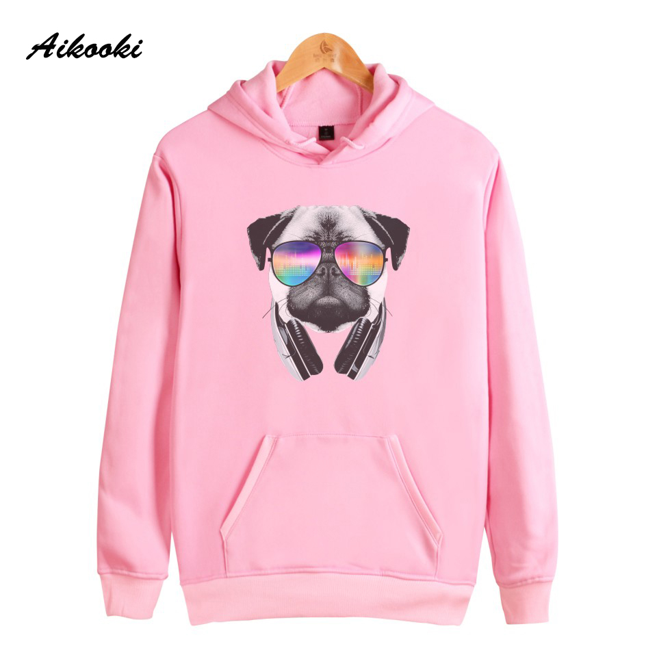 Aikooki Hot Funny Pet Cat And Gog Sweatshirt Hoodies Women Cotton High Quality Hip Hop Sweatshirt Women Fashion harajuku Clothes