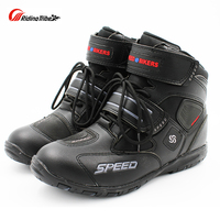 Motorcycle Riding Non slip boots Pro biker shoes Racing Boots,Motorcross Boots,Motorbike Microfiber Leather shoes