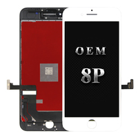 2pcs Original OEM quality for iphone 8 plus LCD Display Good work Touch Screen Assembly Replacement free DHL shipping free gifts