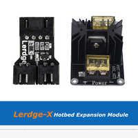 Lerdge 3D imprimante pièces Module adaptateur de lit chauffant + Module d'extension de lit chauffant haute puissance pour Lerdge X Board