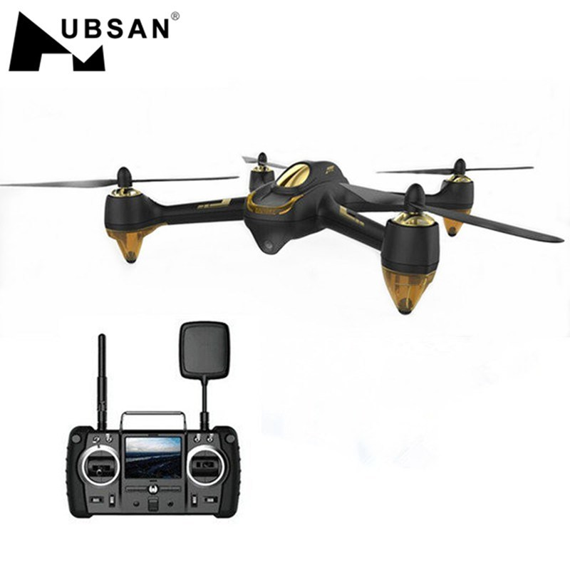 Hubsan Helicopter RC Drone Camera Follow-Me Brushless FPV X4 Pro 1080P GPS RTF Mode HD