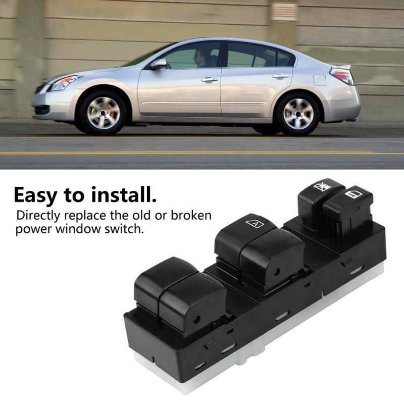 Detail Feedback Questions About New Left Hand Driver Side Master Window Switch For Nissan Altima 2007 2008 2009 2010 1011 2017 25401 Zn40a Auto Accessories