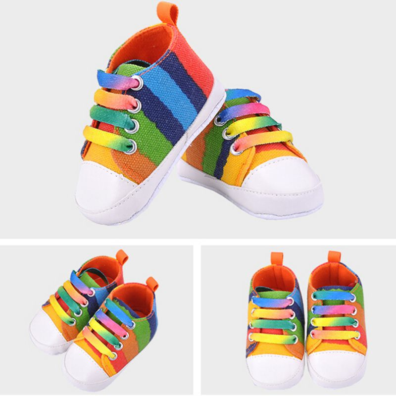Infants-Baby-Boy-Girl-Soft-Sole-Crib-Shoes-Casual-Lace-Prewalkers-Sneaker-0-18M-X16-3