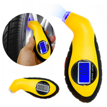 Digital LCD Car Tire Tyre Air Pressure Gauge Meter Manometer Barometers Tester font b Diagnostic b