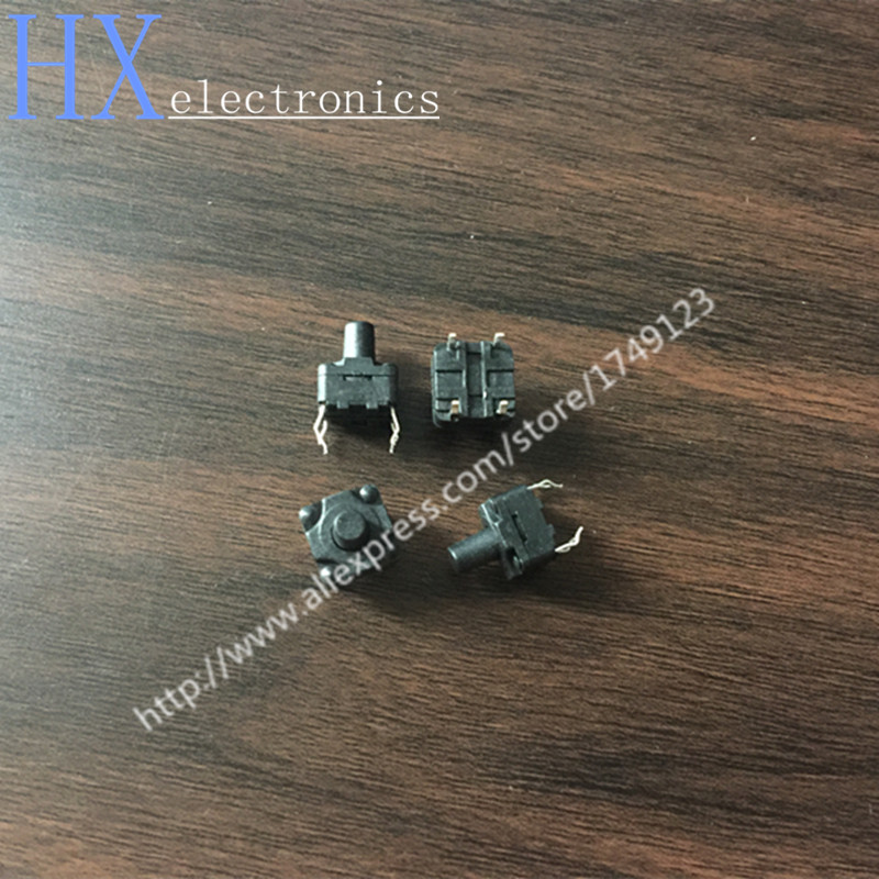 Free shipping 500PCS 8*8*10 DIP switch 8X8X10MM highly waterproof and dustproof micro Soymilk touch of a button Hot wholesale