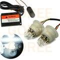 ROJO y AZUL luz estroboscópica led luz de advertencia de alta potencia del coche led lámpara de flash de luz de emergencia lámpara de tubo en espiral del Coche para opel astra h