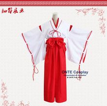 Japan Anime Inuyasha Cosplay Costumes Witch Kikyou Coat Full Set Fashion Women Halloween Clothes Dropshipping