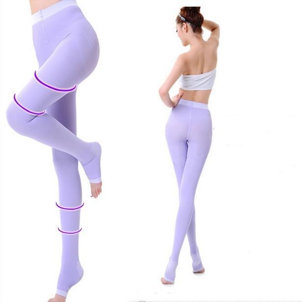 Mujeres de prevenir las venas varicosas calcetines de compresión panti belleza nalgas Bodyshaper para adelgazar las piernas los pantalones de cadera